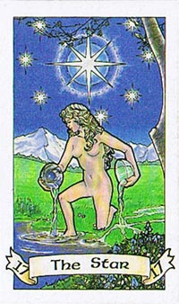 The Star (Robin Wood Tarot Deck)